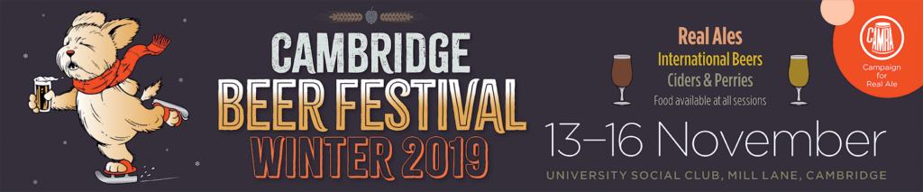 Cambridge Beer Festival Winter 2019
